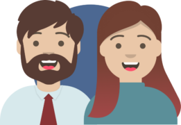 avatar illustration of Nathan and Becky Bliss