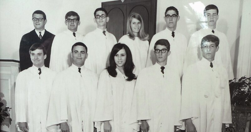 1968 confirmation group photo