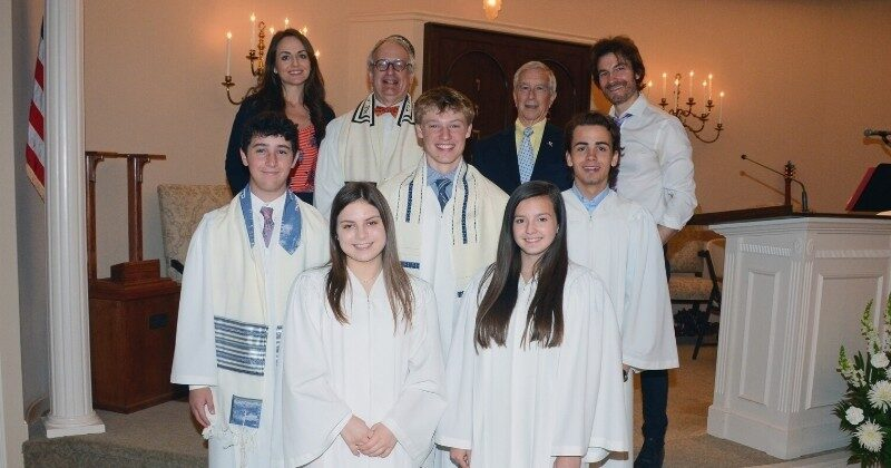 2019 confirmation group photo