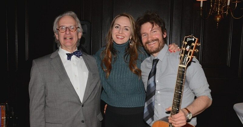 rabbi londy with musicians becky and nathan bliss