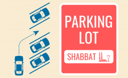 parking lot shabbat