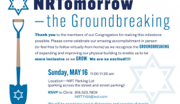 NRTomorrow Groundbreaking